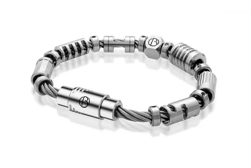 CABLE™ Fully Loaded Stainless Steel Bracelet | Stainless Steel CABLE™ Bracelets | Bailey of Sheffield