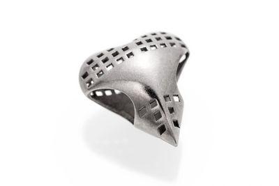Stainless Steel Strong Heart   Bracelet Beads   Bailey of Sheffield