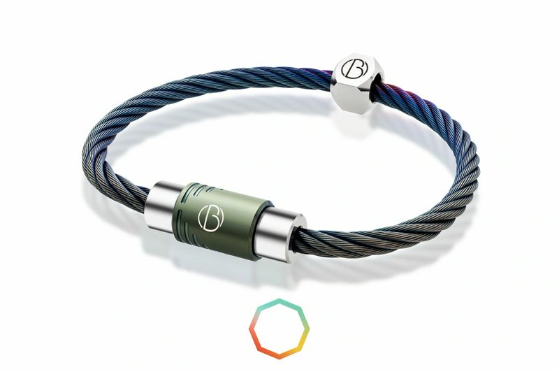 CABLE™ Custom Stainless Steel Bracelet | Stainless Steel CABLE™ Bracelets | Bailey of Sheffield