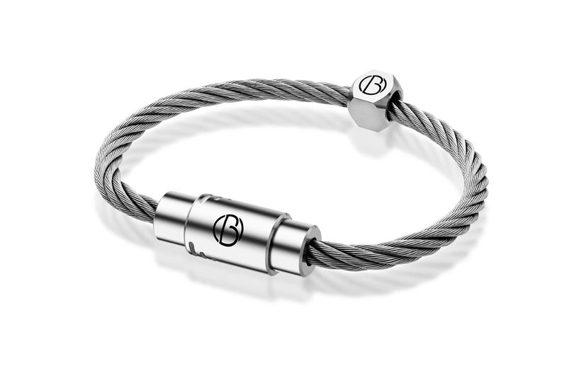 CABLE™ Stainless Steel Bracelet | Stainless Steel CABLE™ Bracelets | Bailey of Sheffield