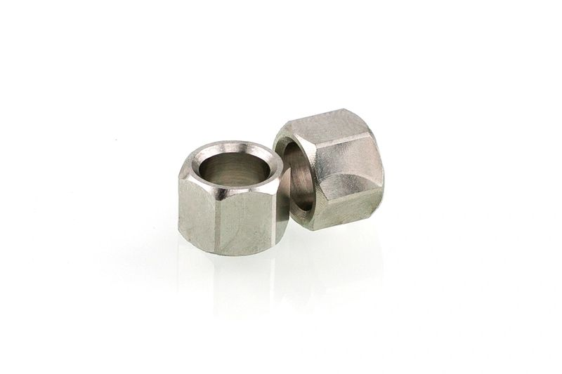 Stainless Steel Hex Bead