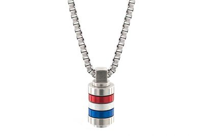 Stainless Steel GB Mini Mixer Necklace | Stainless Steel Necklaces | Bailey of Sheffield