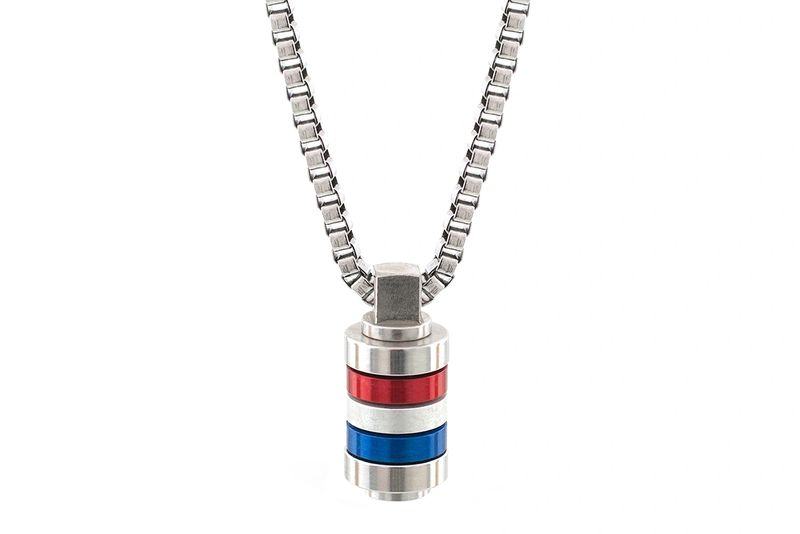 GB Mini Mixer Necklace | Stainless Steel Necklaces | Bailey of Sheffield