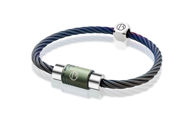 Custom CABLE Stainless Steel Bracelet | CABLE Stainless Steel Bracelets | Bailey of Sheffield